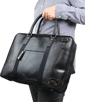 SEAL Briefcase for Men PS064 BLACK Handle Hand Carrying View