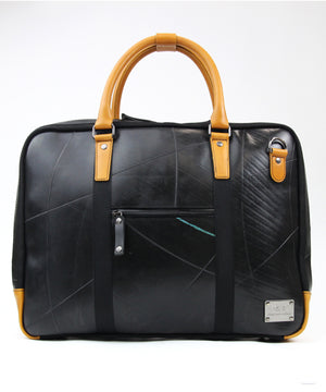SEAL Briefcase for Men PS064 BROWN Front View