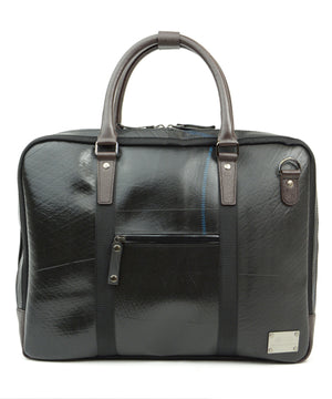 SEAL Briefcase for Men PS064 DARK BROWN Front View