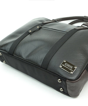 SEAL Briefcase for Men PS064 DARK BROWN Bottom View