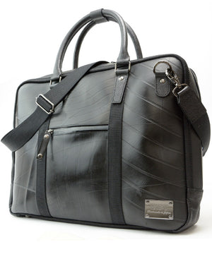 SEAL Briefcase for Men PS064 PREMIUM BLACK Side View
