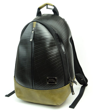 SEAL Best Men's Backpack for Work PS094 MOSS GREEN Side View
