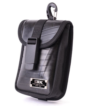 SEAL belt bag BLACK side view