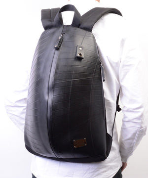 SEAL Unique Backpack PS117 BLACK Over Back View