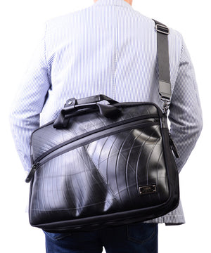 SEAL Expandable Slim briefcase PS155 Long Shoulder Strap View