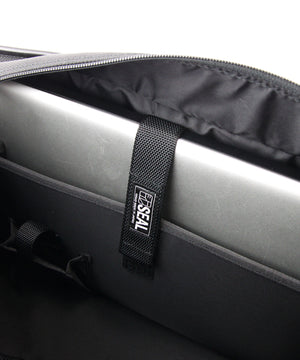 SEAL Weekender Tote With Shoe Compartment PS060 BLACK Laptop Compatible Padded Pocket