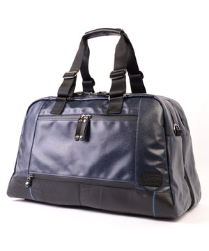 SEAL x Morino Canvas Carry On Bag NAVY Back View
