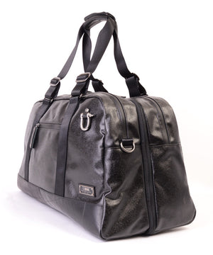 SEAL x Morino Canvas Carry On Bag BLACK side View