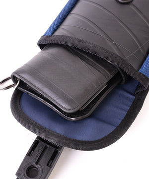 SEAL belt bag PS147 NAVY smartphone size compatible