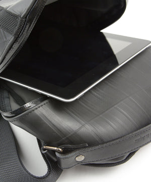 SEAL Men's Sling Backpack PS084 BLACK iPad Size Compatible