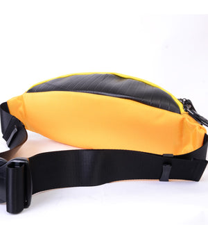 SEAL bum bag PS149 yellow back view