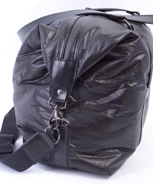 SEAL x Fujikura Parachute Luggage Bag BLACK Side View
