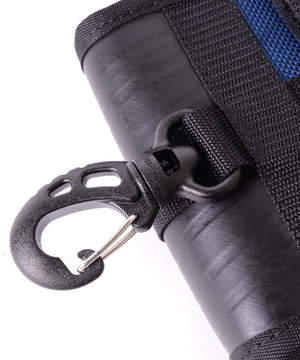 SEAL belt bag PS147 NAVY carabiner attachable