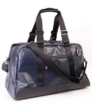 SEAL x Morino Canvas Carry On Bag NAVY Side View
