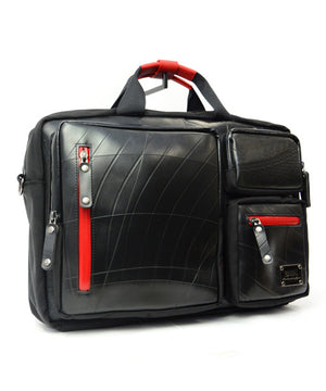 SEAL Carry on Bag for Business Travel RED Side View