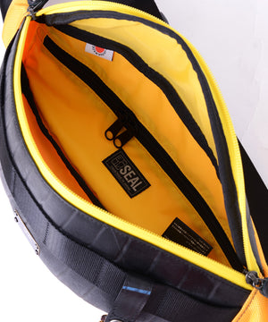 SEAL bum bag PS149 yellow inside view
