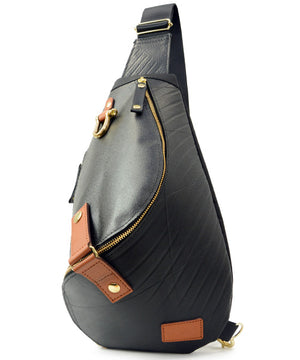 SEAL Morino Canvas Bum Bag MS0250 GOLD Front View
