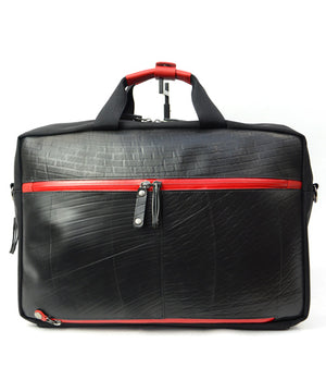 SEAL Carry on Bag for Business Travel RED Back View