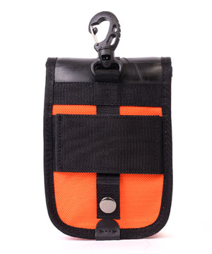 SEAL belt bag PS147 ORANGE 3 ways of carrying