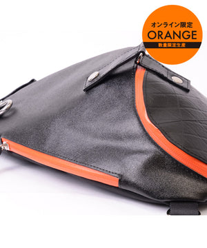 SEAL Morino Canvas Bum Bag MS0250 ORANGE Limited Edition Waterproof Zipper
