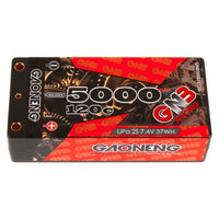 GNB Racing 2S 120C LiPo Shorty Battery Pack (7.4V/5000mAh)