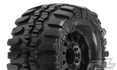 "Interco TSL SX Super Swamper 3.8"" (Traxxas Bead) All Terrain Tires Mounted, 17mm MT Front or Rear"