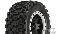 Badlands MX43 Pro-Loc All Terrain Tires Mounted, for X-MAXX Front or Rear