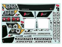 JCONCEPTS - SCT HI-FLOW DECAL SHEET