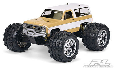 1980 Chevy Blazer Clear Body for REVO 2.5 and 1:10 Crawler