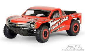 Chevy Silverado 1500 Clear Body for PRO-2 SC, Slash, Slash 4X4 and SC10