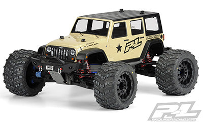 Jeep Wrangler Unlimited Rubicon Clear Body for T/E-MAXX 3.3, REVO 3.3 and SUMMIT