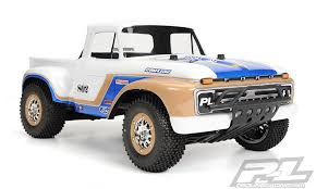 1966 Ford F-100 Clear Body for Slash and Slash 4X4 (requires extended body mount kit)