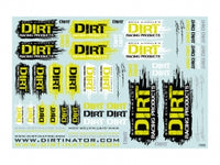 DIRT RACING PRODUCTS - DECAL SHEET