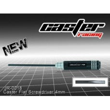 Caster Flat Screwdriver 4mm