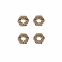 TKR1654X–12mm Aluminum Hex Adapters for Tekno SCT410, Slash/Stamp M6 Driveshafts and AE SC10 4×4
