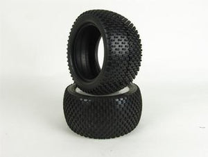 "CEN RACING - ""SNIPER"" TIRES (1 PR), FOR COLOSSUS XT"