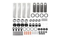 CARISMA - OPTION ALUMINUM ADJUSTABLE SHOCK SET, FOR M10SC/M10DB