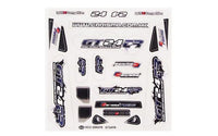 CARISMA - GT24TR TRUGGY STICKER SHEET