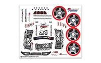 CARISMA - GT24MT STICKER SHEET
