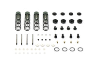 Carisma - Aluminum Adjustable Shock Set, Assembled: SCA-1E