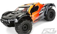 Pre-Cut Monster Fusion Clear Body for Slash 2wd & Slash 4x4 with 2.8