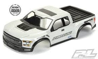 Pre-Painted / Pre-Cut 2017 Ford F-150 Raptor True Scale Body (Gray)