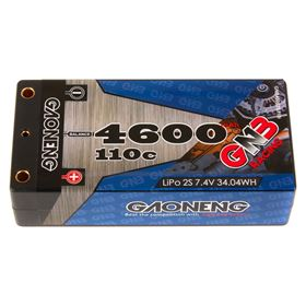GNB Racing 2S 110C LiPo Shorty Battery Pack (7.4V/4600mAh)