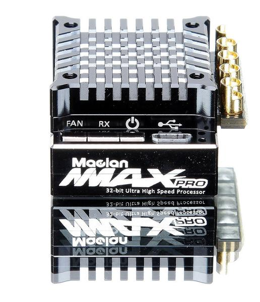 MACLAN RACING - MMAX PRO 1/10 COMPETITION SENSORED 160A ESC