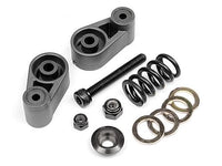 HPI RACING - SERVO SAVER SET (GUNMETAL), BAJA 5SC/D-BOX/BOSS
