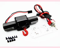 HOT RACING - 1/10 HIGH TORQUE DUAL POWER WINCH
