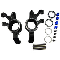 HOT RACING - ALUMINUM STEERING KNUCKLES FOR TRAXXAS X-MAXX