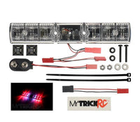 MYTRICKRC - FIRE BLAZE FLASHER - REALISTIC FLASHING LIGHT BAR - RED LEDS