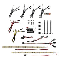 MYTRICKRC-ROCK CRAWLER DELUXE LIGHT BAR KIT-1-UF-7 CONTROLLER