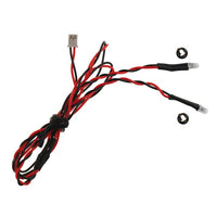 MYTRICKRC - RED DUAL LED 3MM - 2-LEDS ON SINGLE LEAD